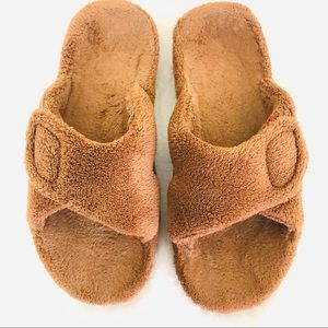 Vionic Relax Brown Slippers Size 7